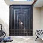 Wrought Iron Security Doors - Artistic Iron Works