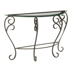Stratford Foyer Table by Stone County Ironworks - Dimensions: