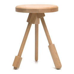 Milk Stool S02 - Natural