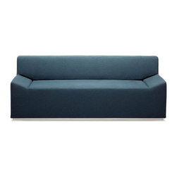 Couchoid Studio Sofa, Ocean - My husband particularly likes this uber-minimal couch, probably because it's almost armless without actually being armless or looking bare.