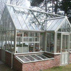 traditional greenhouses traditional glasshouses - Hartley LODGE greenhouse, Hartley Botanic