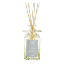 Antica Farmacista - Bergamot & Ocean Aria Room Diffuser - Instantly transform your surroundings with our simple yet elegant 100ml room diffuser. A beautiful way to welcome friends and family, this high quality scented diffuser will awaken the senses to create a calm tranquil and relaxing environment. Our signature room diffusers by Antica Farmacista are enriched with the finest fragrances and will refresh your home with a burst of captivating and enticing scent. Their uniqueness will add a touch of class and sophistication to any living space.   Bergamot & Ocean Aria- A beautiful fragrance built on the allure of the ocean and its captivating ambiance. Fresh saltwater notes blend with soft lavender while crisp bergamot adds a glistening effect.    * 100 ml  * Made in Italy  * The reeds absorb the scent, then gently diffuse it throughout the room
