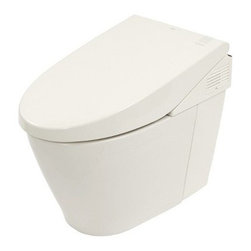 Toto - Neorest 550 One-Piece Dual Flush Toilet - Made by TOTO.A part of the Neorest Collection. The Neorest 550 One-Piece Dual Flush Toilet possesses all of the ground-breaking comfort and hygienic functions expected from a multi-functional toilet combined with an advanced, water-saving dual flushing system. The Neorest 550 is a truly remarkable combination of ecology and luxury. Features:
