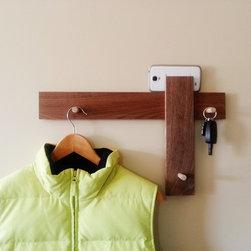 Modern Coat Rack Mail Holder & Key Hanger By Mod-Rak - Mod-Rak