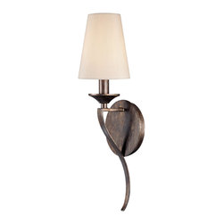 Capital Lighting - Capital Lighting Fifth Avenue Traditional Wall Sconce X-325-TR1334 - Add some traditional grace to your living room, bathroom, or bedroom with the Fifth Avenue Traditional Wall Sconce. The rustic finish provides that homey touch you've been looking for and the stay straight shade provides soothing relief and casual comfort that all your guests will appreciate.