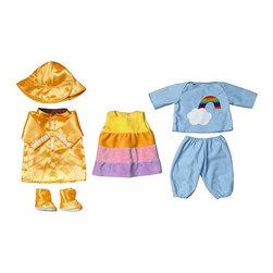 A Huldén/S Dahlman - LEKKAMRAT Doll clothes - Doll clothes, autumn