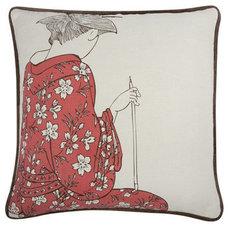 Asian Decorative Pillows by Burke Decor