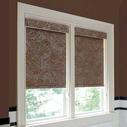 Animal print fabric window treatments roller blinds find for Animal print window treatments