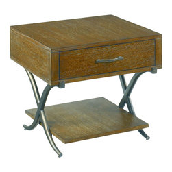 Hammary - Hammary Crosswinds Bunching End Table - Crosswinds from Hammary. Helping to make your home the sanctuary that you deserve. The line is targeted for residential household use.