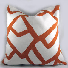 Contemporary Decorative Pillows by Etsy