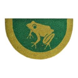 Imports D̩cor - Frog Door Mat (ID509PVC) - Frog