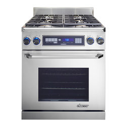 """Dacor Discovery 30"""" Freestanding Dual Fuel Range, Stainless Steel 