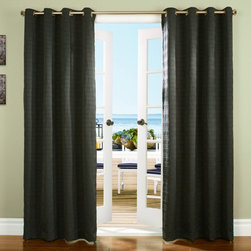 Commonwealth Home Fashions - Commonwealth Channel Grommet Top Panel - 085008084100 - Shop for Curtains and Drapes from Hayneedle.com! TheCommonwealth Channel Grommet Top Panel piques your interest for a few seconds upon first glance to shows you it's special. The seersucker-like pinched fabric texture takes it a few notches above an ordinary panel without being overbearing in design. This solid panel provides shade in any room and has eight silver metal grommets to fit whichever curtain rod you have on hand.About Commonwealth Home Fashions A family business Commonwealth Home Fashions was founded in 1946 by the Levenson brothers. Today the operate facilities in Montreal Qc Canada and in Willsboro NY. Over the years they've built their reputation by producing and importing decorative soft window treatments decorative pillows and throws bed coverings shower curtains and more.