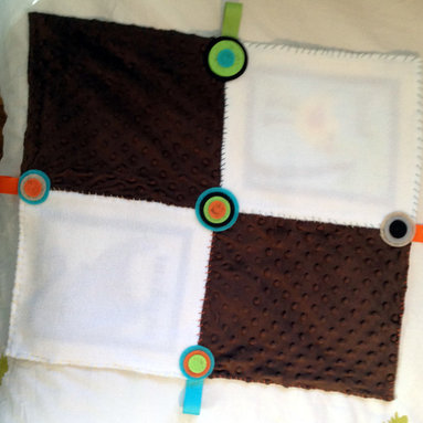 Zoo Quilt Back -
