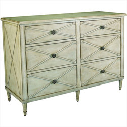 "Hammary - Hidden Treasures Drawer Chest White - ""Hammary's Hidden Treasures collection is a fine assortment of unique accent pieces inspired by some of the greatest designs the world over. Each selection is rich in Old World icons and traditions."