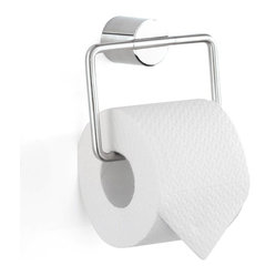 Duo Square European Toilet Paper Holder, Polished