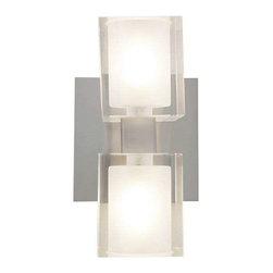 Access Lighting - Access Lighting 23906-BS/FCL Astor Modern Bathroom Light - Brushed Steel - Access Lighting 23906-BS/FCL Astor Modern Bathroom Light In Brushed Steel