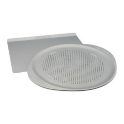 "Farberware Cookware - Farberware 2-Piece Combo Set Bakeware - Faberware Insulated Bakeware Combo Set includes 14"" x 16"" Cookie Pan and 15.5"" Pizza Pan. This item cannot be shipped to APO/FPO addresses. Please accept our apologies."