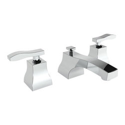 """Newport Brass - Newport Brass 1040 Colorado Double Handle Widespread Lavatory Faucet - Colorado Double Handle Low Lead Widespread Lavatory Faucet with Metal Lever HandlesThe Newport Brass Colorado Collection features modern styling brings a stylish and simple addition to any household. The elegant lines and acute corners of the Colorado Collection bring a magnificent feel to any room. Newport Brass lavatory faucets are available in several different styles with 25 unique finish options. You will see why Newport Brass boasts Flawless Beauty from Faucet to FinishFeatures:Double handle lavatory faucetADA compliant lever handlesBrass Valve Bodies. Valve Included.Quarter-turn washerless ceramic disc valve cartridgesPop-up drain with tail pieceCA/VT Low lead compliantWaterSense CertifiedSolid brassReadyship Available Finishes - Finishes guaranteed to be in stock by Newport BrassOil Rubbed BronzePolished NickelSatin NickelPolished ChromeFinish Features:Available in 25 beautiful finishesNew Industry Leading lacquer Finish ProcessIAPMO Certified and testedLong Life Finishes - 10 Year WarrantyDurable, color protected, scratch resistantGreen, low VOC, energy efficient finishing processSpecifications:Spout Reach: 6""""Spout Height: 1 5/8""""Overall Height: 3.5""""Handle Height: 3.5""""8"""" CentersLow Lead Compliant : YesWaterSense Certified : YesCenters : 8""""Material : Solid Brass1/2"""" valves"""