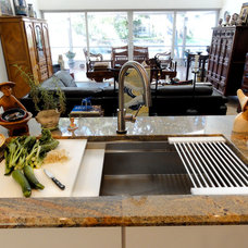 transitional kitchen by The Galley - Reinventing the Kitchen