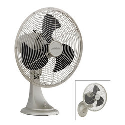 "Fanimation - Fanimation Portbrook 20"" Tall 3 Blade Oscillating Desk or Wall Mounted Fan - Included Components:"