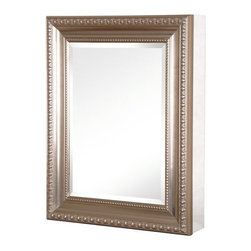 Pegasus SP4595 26-Inch Deco High Framed Medicine Cabinet, Brushed Nickel - Pegasus SP4595 Deco 26-Inch High Framed Medicine Cabinet which is Brushed Nickel This cabinet is having some awesome reviews.