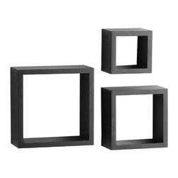 KNAPE & VOGT MFG - Shadow Box, Black - Features: