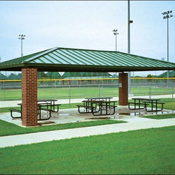 Fifthroom - 20' x 40' All Steel Rectangular Summerset Pavilion -