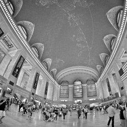 """Grand Central Terminal - New York"" Artwork - A sweeping view of grand central terminal in new york city."