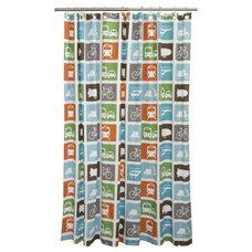 Modern Shower Curtains by Design Public