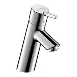 Hansgrohe - Hansgrohe Talis S Single Hole Chrome Faucet - The Hansgrohe Talis S single hole chrome faucet is the perfect contemporary update to your next bathroom remodel. With a durable construction and single lever handle,this stylish faucet is complete with a polished finish.