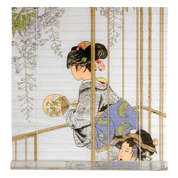 Oriental Furniture - Geisha Shoji Blinds - (48 in. x 72 in.) - Bring a touch of elegance into your home with Japan's superlative beauty, the Geisha. This shoji paper blind will meet many of your decorating needs.