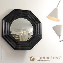 Boca do Lobo Lenox Wall Mirror Soho Collection - Boca do Lobo Lenox Wall Mirror Soho Collection