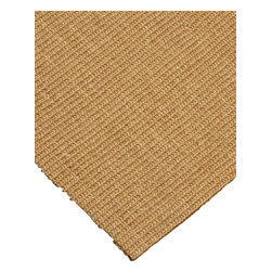 """Natural Area Rugs - """"Tribeca"""" Sisal Rug, 100% Natural Fiber - All natural sisal rug handcrafted by Artisan rug maker. Naturally durable and anti-static, this earth friendly rug is great for high traffic areas. Enjoy this self bound sisal rug with non-slip latex backing along with its stylish and contemporary look. Variations are part of the natural beauty of natural fiber. We recommend a rug pad as it will protect not only your rug but your hardwood floor as well."""
