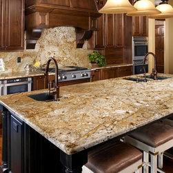 Granite and kitchen remodel - www.istonefloors.com