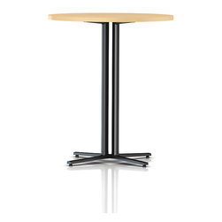 Herman Miller - Standing Height Everywhere Table - Standing room only. This cleverly constructed table is just the right height if you prefer to sit in a stool or stand as you work. It also makes a great café table in your breakfast nook or in the workplace break room.