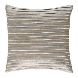 Waterford - Waterford Colleen Lace Square Throw Pillow - Give your bed a truly opulent touch with this Waterford Linens Colleen Square Throw Pillow.
