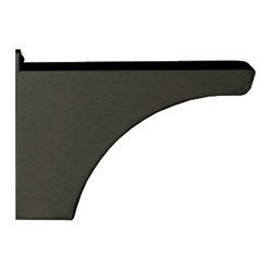 Decorative Post Side Support Bracket for One Mailbox