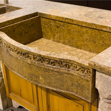 Contemporary Kitchen Sinks by Stone Passion Northeast