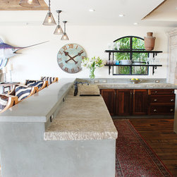 Kitchen Stone Islands (Mediterranean Style) - Provided by 'Ancient Surfaces'