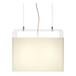 "Pablo Designs - Tube Top 18"" 2-light Pendant - Features:"