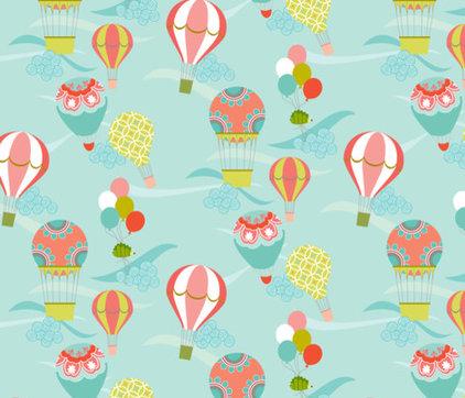 guest picks whimsical wallpaper for a girl 39 s room
