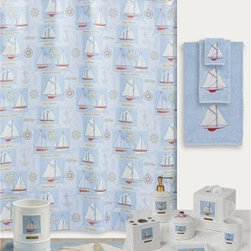 Creative Bath Sailing Shower Curtain - About Creative BathFor over 30 years, Creative Bath has developed innovative, stylish bathroom decor items. They have grown exponentially, and now you can find their products in major retail and online stores around the world. From shower curtains to soap dishes and everything in between, Creative Bath brings you high quality items to enhance your lifestyle.