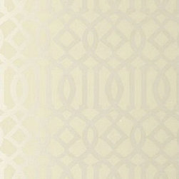 Schumacher - Imperial Trellis Wallpaper, Alabaster - Sold and Price in Double Rolls