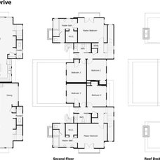 Contemporary Floor Plan by Nick Mehl Architecture