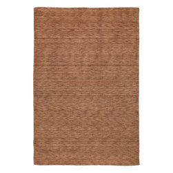 """Kaleen - Kaleen Renaissance Renaissance (Copper) 7'6"""" x 9' Rug - Renaissance is a truly unique, high fashion monochromatic collection that offers a Tibetan look but at a non-traditional price. Renaissance is hand loomed in India of only the finest 100% Virgin Seasonal Wool for years of elegant durability."""