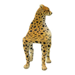 Unicorn Studio Leopard Chair, Miniature - This kids' chair comes for a great price and would be so fun.
