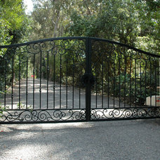 Traditional Home Fencing And Gates by Ironic Metalworks LLC