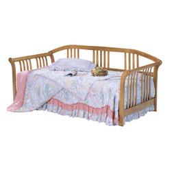 Homelegance - Homelegance Magna 87 Inch Wood Daybed - Oak - Solid wood daybed. Link spring or pop-up trundle sold separately.