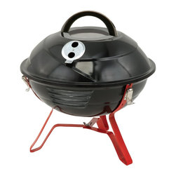 "Kay Home Products - Vortex Tabletop Charcoal Grill with Patented Leg Lock - 14.5"" - Vortex Tabletop Grill with Patented Leg Lock - 14.5 inch."
